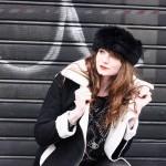 Manteaux de belle femme