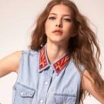 Vêtement populaire de l'été, chemise sans manche